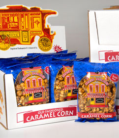 48 3oz Bags Old Fashioned Caramel Popcorn